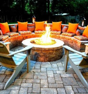 Outdoor Fire Pits-Frisco TX Professional Landscapers & Outdoor Living Designs-We offer Landscape Design, Outdoor Patios & Pergolas, Outdoor Living Spaces, Stonescapes, Residential & Commercial Landscaping, Irrigation Installation & Repairs, Drainage Systems, Landscape Lighting, Outdoor Living Spaces, Tree Service, Lawn Service, and more.